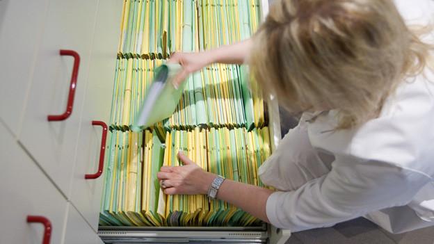 Computer-Datenbank statt Aktenschränke: So will die Life-Science-Branche in Zürich durchstarten.