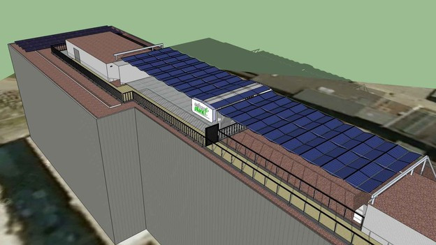 Auf den Flachdächern des Technopark Winterthur erforscht die ZHAW unterschiedliche Fotovoltaik-Anlagen.