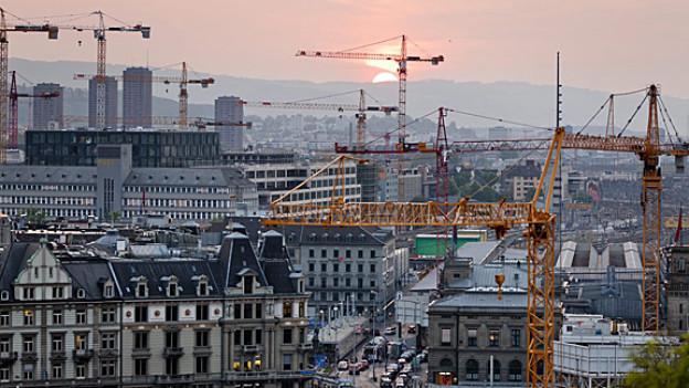 Wieviel wird noch gebaut in Zürich?