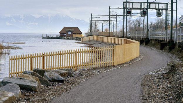 Ein durchgehender Seeuferweg ist vorerst vom Tisch.