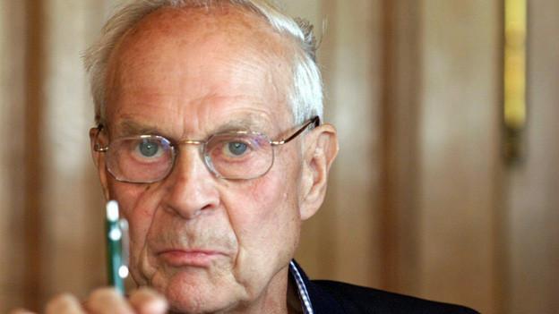 Alt-Bundesrat Rudolf Friedrich (Aufnahme vom Juli 2003)