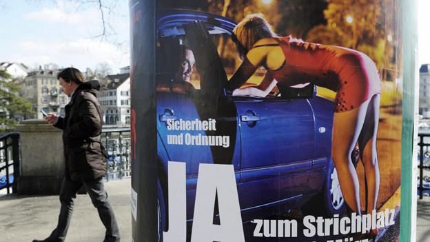 50 bis 100 Autos verkehren pro Abend auf dem neuen Strichplatz in Altstetten.