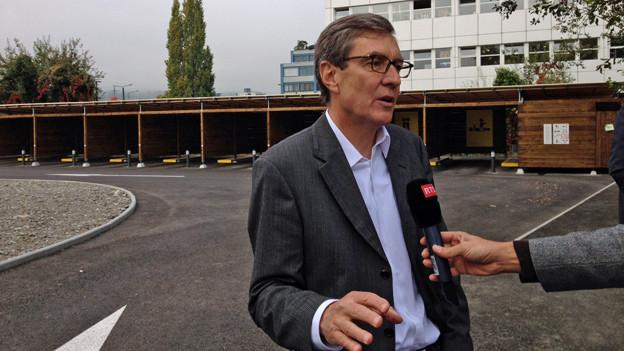 Martin Waser zieht als Sozialvorsteher ein erstes Fazit zum Zürcher Strichplatz.