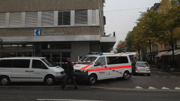 Bereits im März 2013 wurde die ZKB-Filiale an der Langstrasse ausgeraubt.