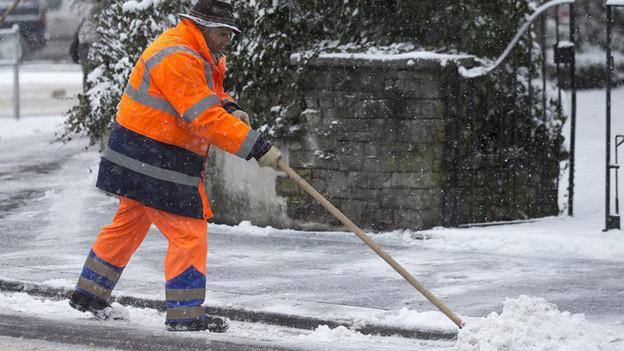 Ab sofort kommen die Schneeschaufeln in Winterthur später zum Einsatz.