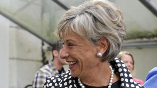 Finanzdirektorin Rosmarie Widmer Gysel strebt nur noch eine moderate Steuererhöhung an.