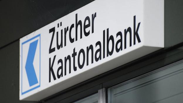 Gehört neben der UBS und der CS neu zu den «systemrelevanten Banken» - die ZKB.