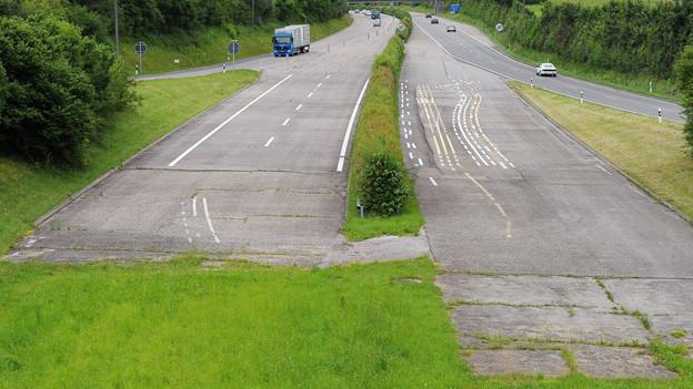 Kein Anschluss für diese Strasse: Die Lücke in der Oberlandautobahn wird noch länger bestehen.