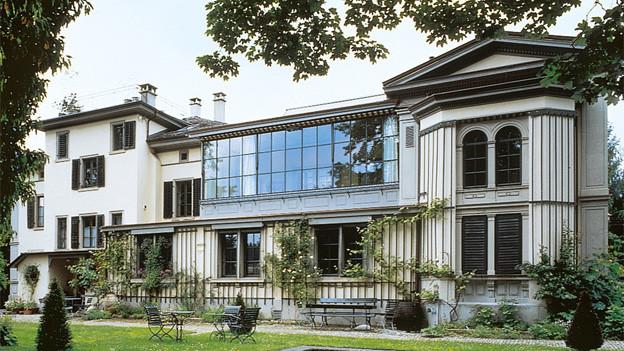 Die Türen schliessen im April 2014: Das Museum Villa Flora in Winterthur.