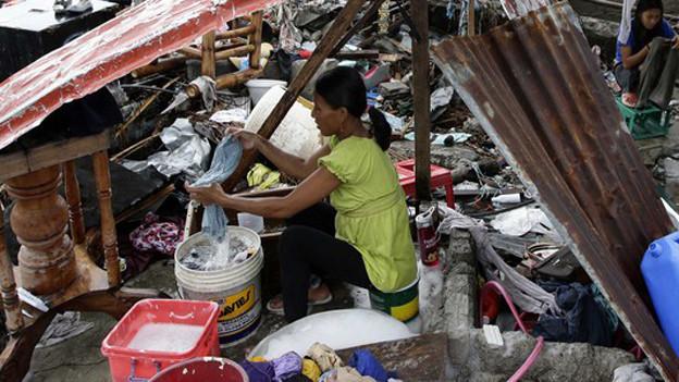 Die Sturmopfer auf den Philippinen erhalten nun auch aus Zürich Unterstützung