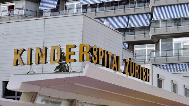 Das Kinderspital Zürich behandelt auch Kinder mit schweren Verbrennungen.