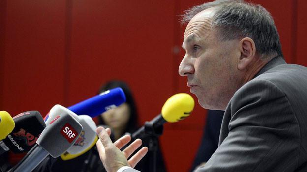 Martin Graf anlässlich der Medienkonferenz letzte Woche zum Fall Carlos