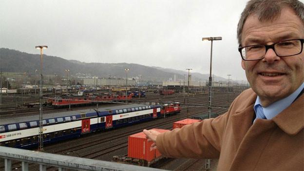 Der Dietiker Stadtpräsident Otto Müller ist zuversichtlich, dass die SBB ihre Pläne im Limmattal bald fallen lässt.