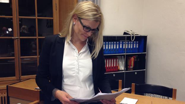 Denkt über rechtliche Schritte nach: Finanzstadträtin Yvonne Beutle