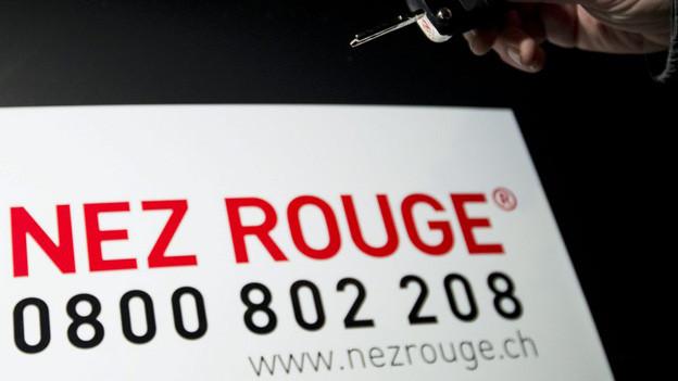 Nez Rouge ist über die Festtage wieder in Aktion