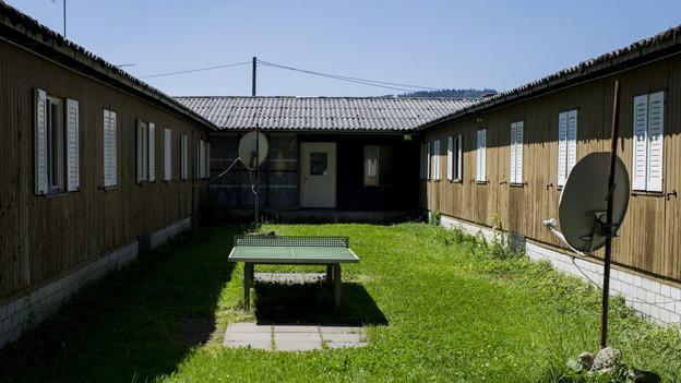 Das Juch-Areal in Altstetten - hier startet der Testbetrieb für die schnelleren Asylverfahren