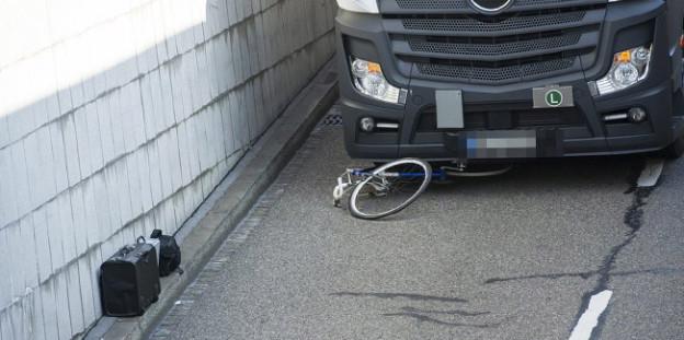 Auslöser für die Petition: Der Lastwagenfahrer übersah am Hauptbahnhof einen Velofahrer.
