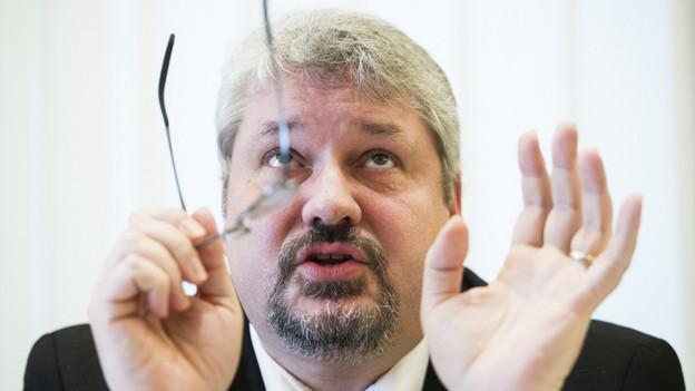 Stadtpräsident Michael Künzle (CVP) mag über die 4-Jahres-Bilanz nicht jubeln.