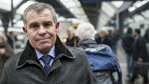 Wird von der eigenen Partei kritisiert: SVP-Regierungsrat Ernst Stocker.