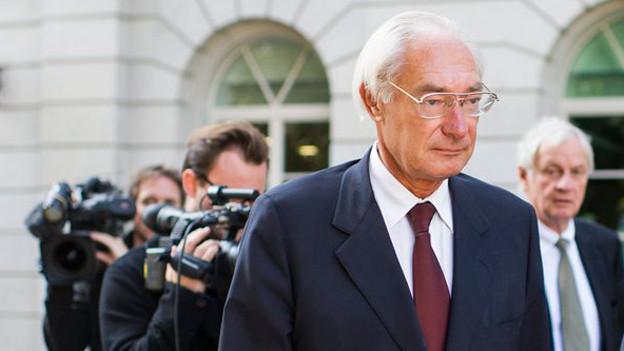 Rolf Erb bei der Berufungsverhandlung am Obergericht.