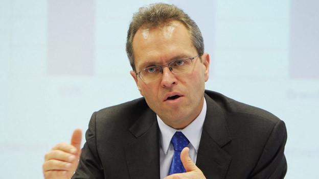 Seine Lohnerhöhung sorgte für hitzige Diskussionen: BVK-CEO Thomas Schönbächler