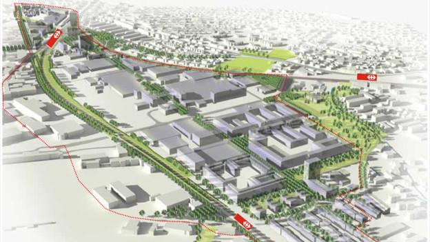 Trotz grossem Neubaugebiet in Neuhegi: Winterthur wächst langsamer.