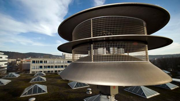 Sollen auch bei Stromausfall funktionieren: Die Sirenen in der Schweiz.