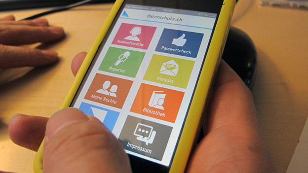 Besserer Datenschutz dank App
