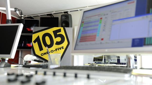 Wird neu aus den Studios von Radio 1 gesendet: Radio 105.