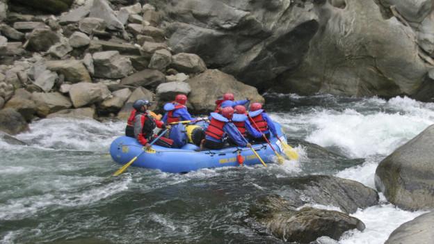 Das Risiko der River-Rafting-Tour war vertretbar, sagt das Bundesgericht.