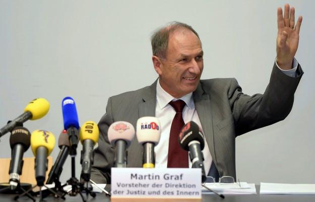 Ist gefordert: Regierungsrat Martin Graf.