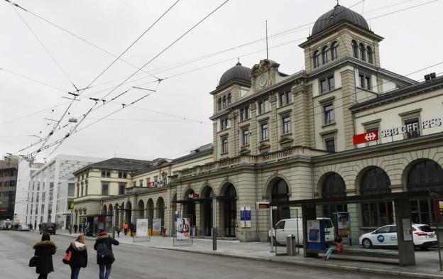 Der Winterthurer Hauptbahnhof