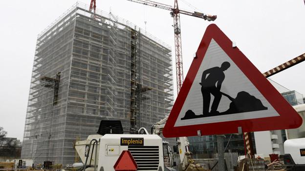 Der Bauboom in Zürich Leutschenbach soll weitergehen.