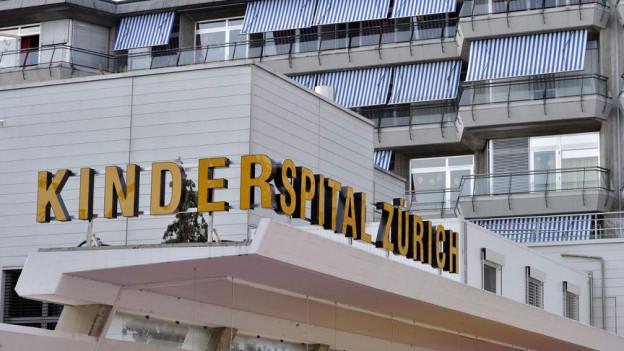 Aussenansicht des Kinderspitals Zürich
