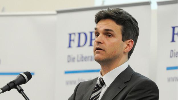 Zürcher FDP-Kantonalpräsident Beat Walti