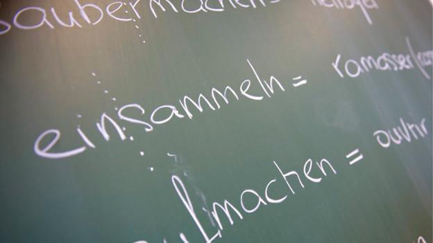 Eine Fremdsprache reicht, finden die Schaffhauser Kantonsparlamentarier.