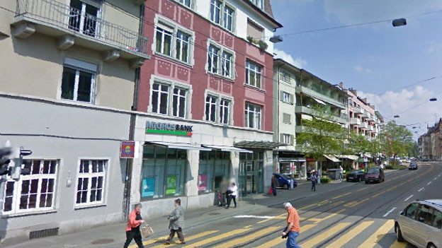 Die Migros Bank in Zürich-Altstetten