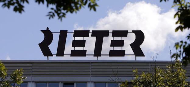 Rieter schreibt schwarze Zahlen.