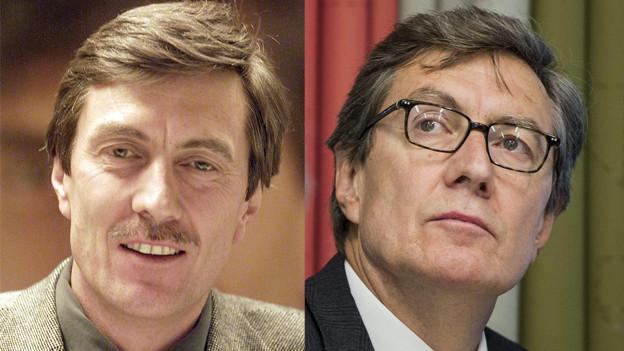 Martin Waser 2002 und 2013.