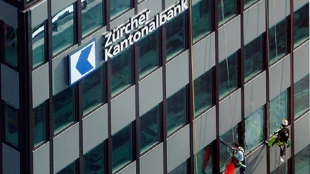 Das Hauptgebäude der Zürcher Kantonalbank.