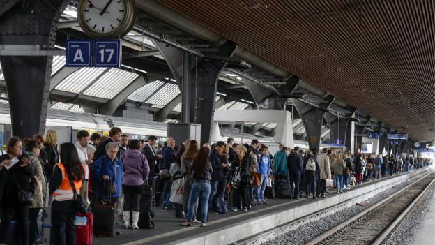 S-Bahnen verspätet