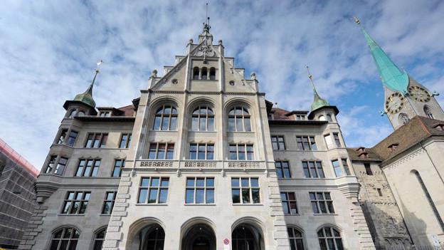 Stadthaus Zürich von Aussen