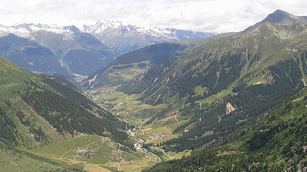 Das Val Medel – hier könnte dereinst Gold abgebaut werden.