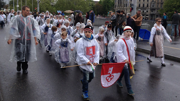 Die Kinder aus dem Gastkanton Obwalden.