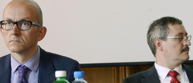 Flurin Condrau und Michael Hengartner