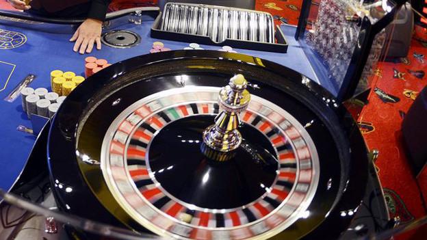 Spieltisch im Casino Zürich