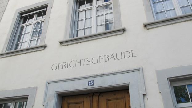 Ansicht des Gerichtsgebäudes in Schaffhausen