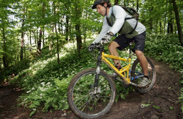 Biker sollen künftig nicht nur runter sausen, sondern auch mit eigener Kraft auf den Uetliberg pedalen.