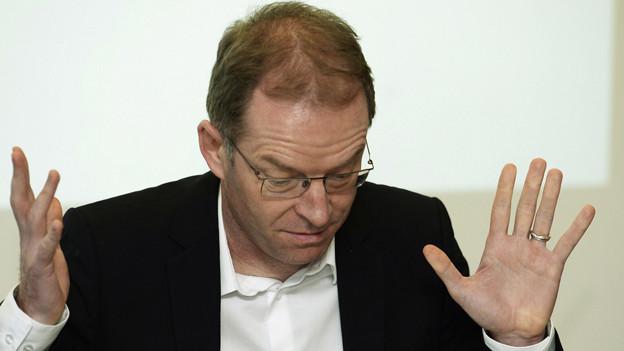 Der Zürcher Finanzvorsteher Daniel Leupi (Grüne)