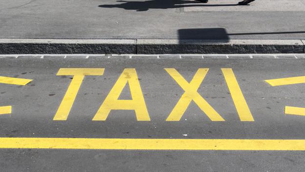 Warteplatz für Taxis